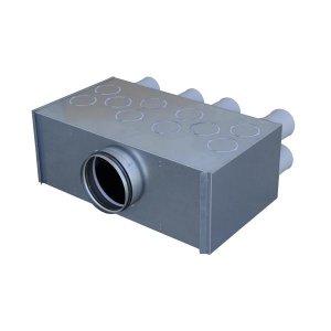 Répartiteurs métalliques isolés modulables