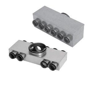 Plénums de répartition métalliques