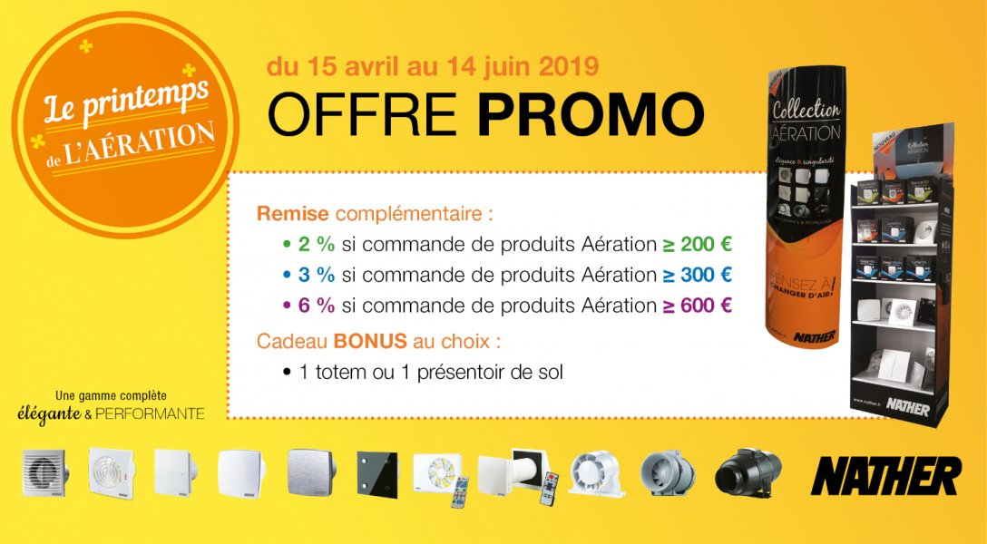 Printemps de l'aération - PROMO